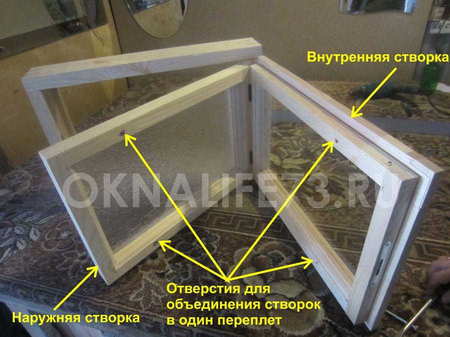фото окна с одним переплетом